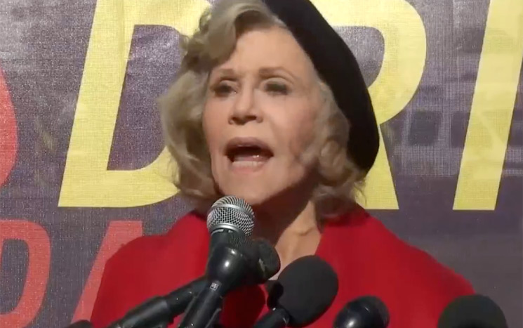 Jane Fonda Just Got Arrested Again