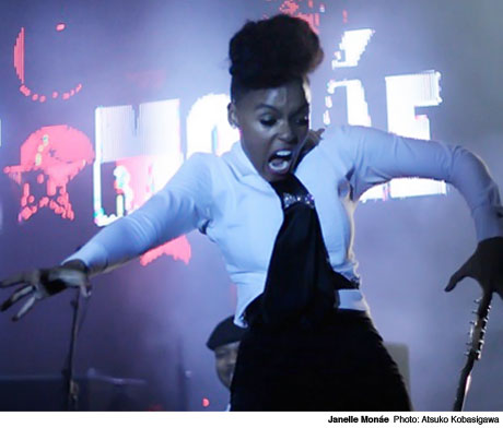 Janelle Monáe Royal York Hotel, Toronto ON March 12