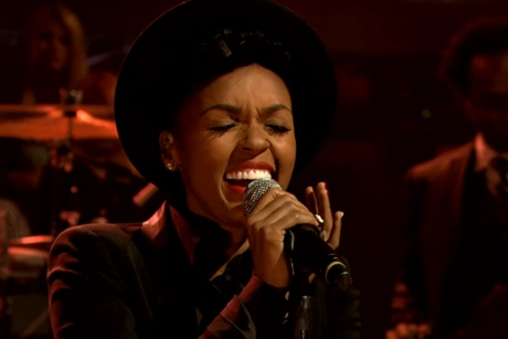Janelle Monáe & the Roots 'Little Wing' (Jimi Hendrix cover) (live on 'Fallon')