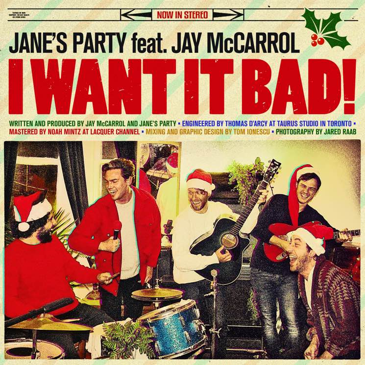 "​Jane's Party Celebrate Childhood Materialism with Christmas Song ""I Want It Bad"""