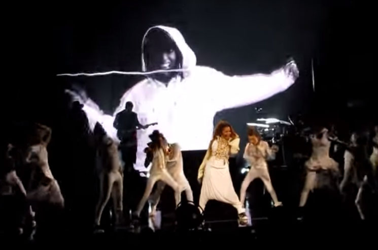 Janet Jackson Untitled New Song (ft. Missy Elliott) (live video)