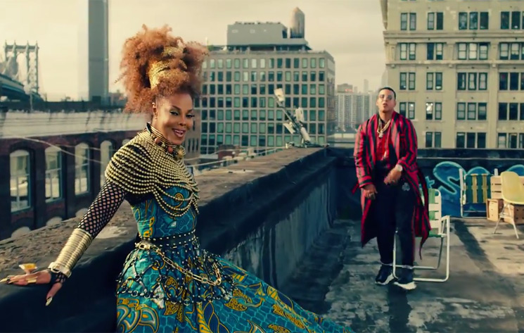 "Janet Jackson Shares ""Made for Now"" Video with Daddy Yankee"