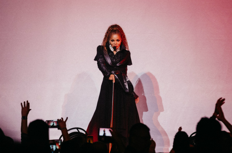Janet Jackson Rogers Arena, Vancouver BC, September 26