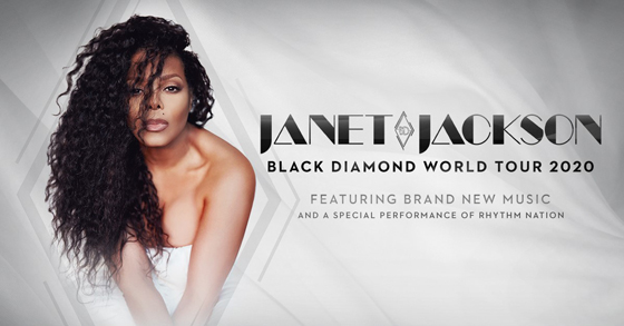 Janet Jackson to Play Canada on 'Black Diamond World Tour'