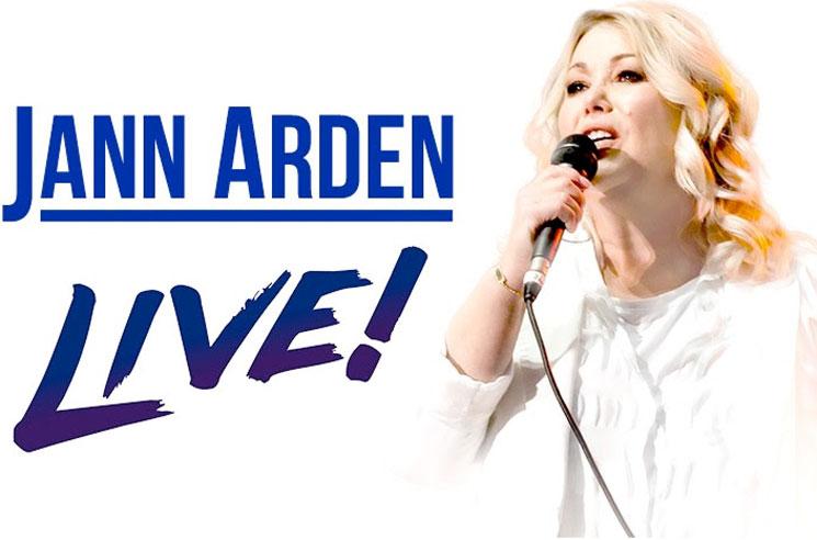 Jann Arden Reschedules Canadian Tour for 2022