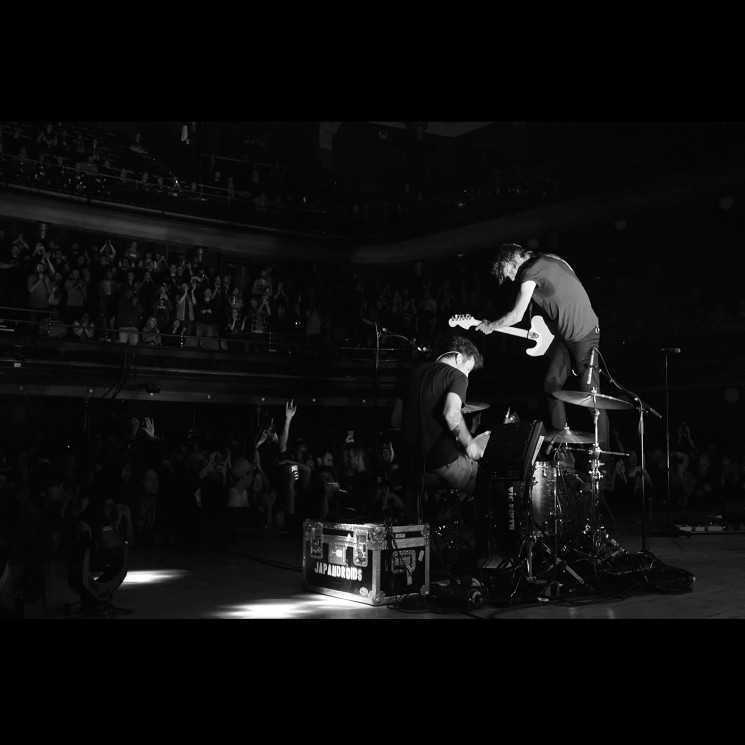 Japandroids Prove Themselves Worthy of 'Massey Fucking Hall' on Triumphant Live Album