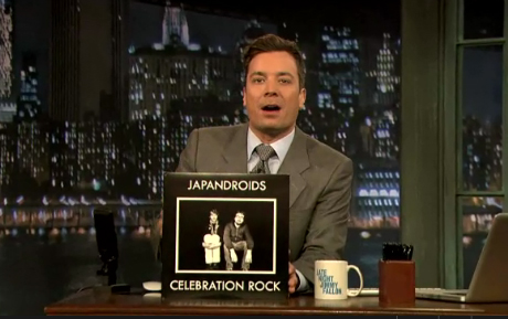 Japandroids 'Fire's Highway' / 'The House That Heaven Built' (live on 'Fallon')