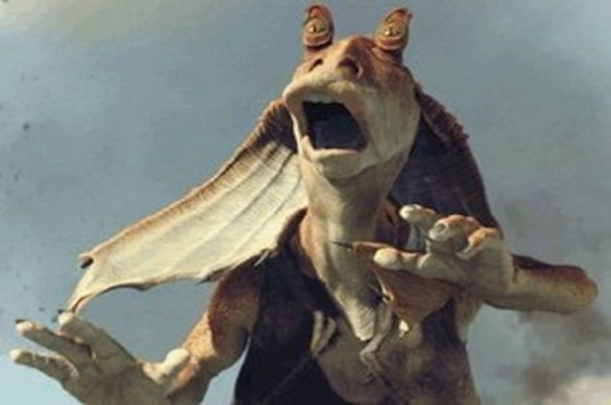 "Even the Guy Who Voiced Jar Jar Binks Wanted the Character to ""Really Be Just Hacked to Pieces"""