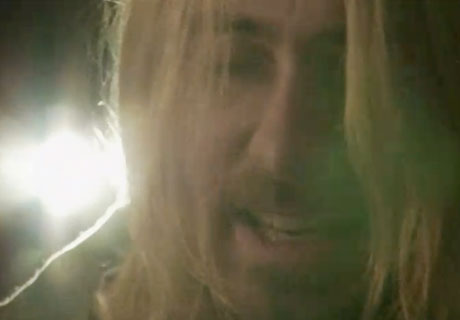 Jared Leto Kurt Cobain tribute (video)