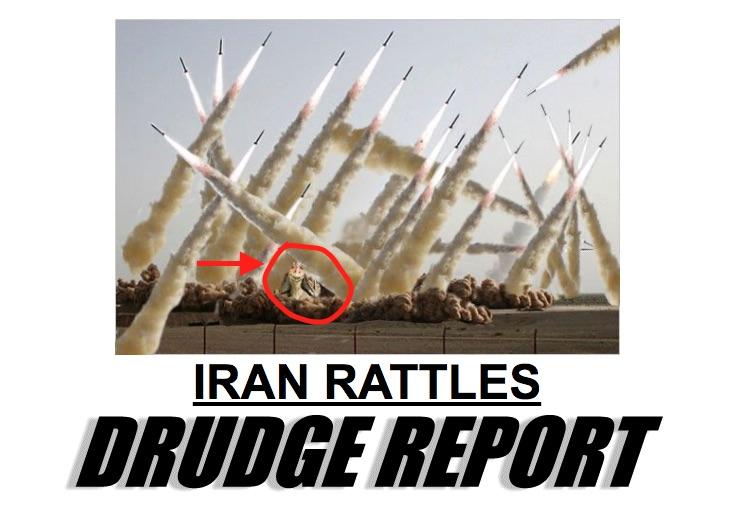 'Drudge Report' Posts Photo of Jar Jar Binks in Fake Iran Nuke Story