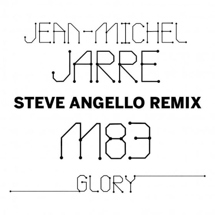 "Jean-Michel Jarre ""Glory"" (ft. M83) (Steve Angello remix)"