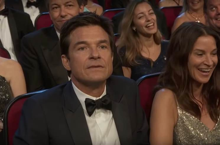 Jason Bateman Made a Lot of Meme-Worthy Faces at the Emmys