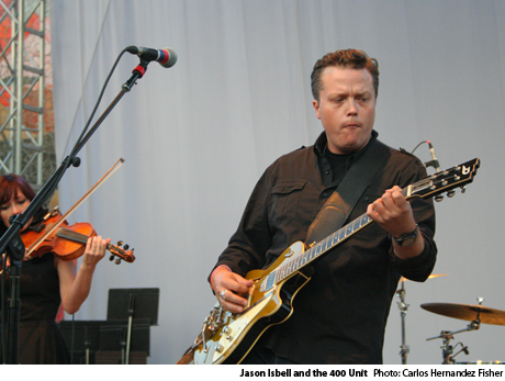 Jason Isbell and the 400 Unit Seattle Center, Seattle, WA, September 1