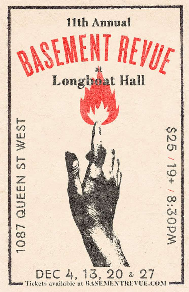 Jason Collett Announces 2018 Basement Revue
