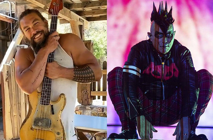 Jason Momoa Credits Tool for His Love of Bass Guitar