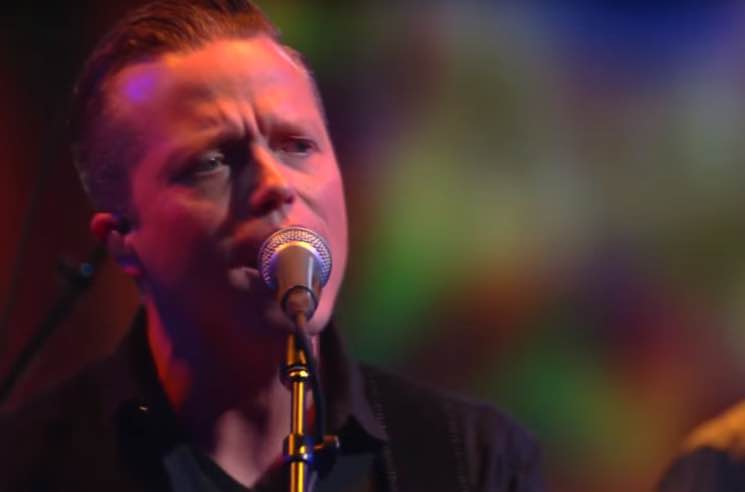 "Jason Isbell ""If It Takes a Lifetime"" (live on 'Colbert')"