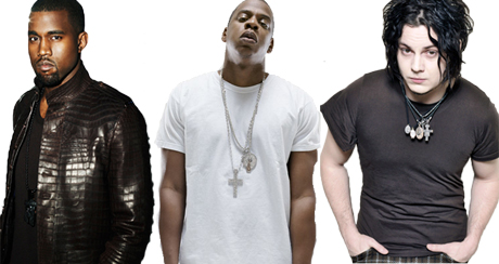 Insane Collaboration Alert: Kanye West Reportedly Records Track with Jack White and Jay-Z