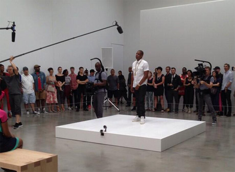 """Jay-Z Currently Rapping """"Picasso Baby"""" for Six Hours Straight in New York Gallery"""