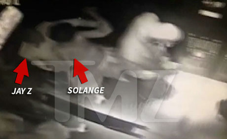 Security Footage Allegedly Captures Solange Attacking Jay Z
