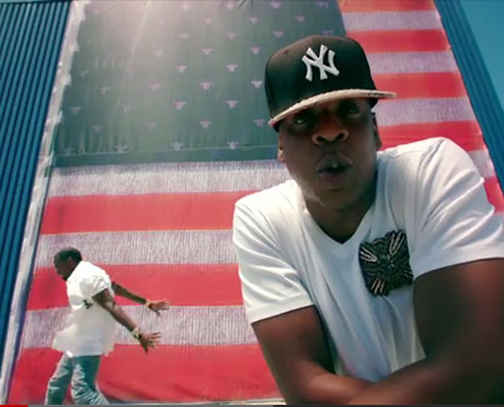Kanye West & Jay-Z 'Otis' (video)