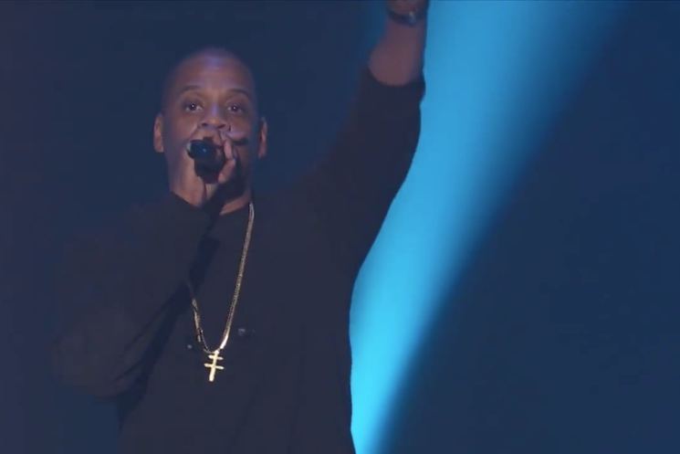 Jay Z Live on 'Kimmel'