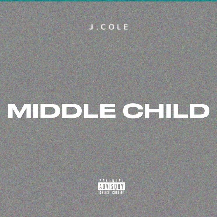 "​J. Cole Drops New Track ""Middle Child"""
