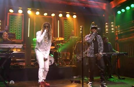 Jeezy 'No Tears' (ft. Future) (live on 'Fallon')