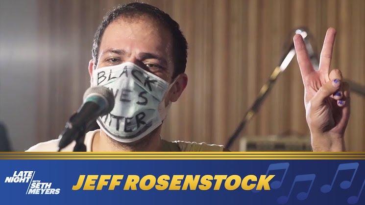 Jeff Rosenstock Performs 'Scram!' on 'Seth Meyers'