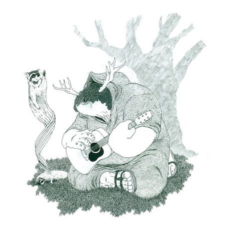 Jeff Tweedy and Sons Become the Racoonists, Detail Deerhoof Split 7-Inch