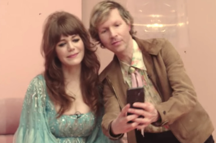 "Jenny Lewis Shares Video for ""Red Bull & Hennessy"" with Beck,  St. Vincent, Jeff Goldblum"