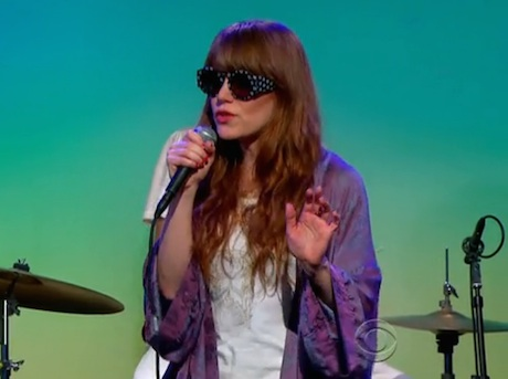 """Jenny Lewis """"She's Not Me"""" / """"Just One of the Guys"""" (live on 'CBS This Morning')"""