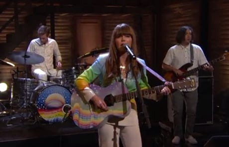 """Jenny Lewis """"Just One of the Guys"""" (live on 'Conan')"""