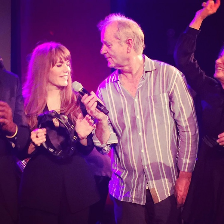 The Internet Thinks Bill Murray and Jenny Lewis Are Dating