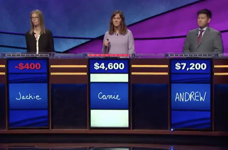 The 'Jeopardy!' Win Streak by ​the Runaways' Jackie Fuchs Comes to an End