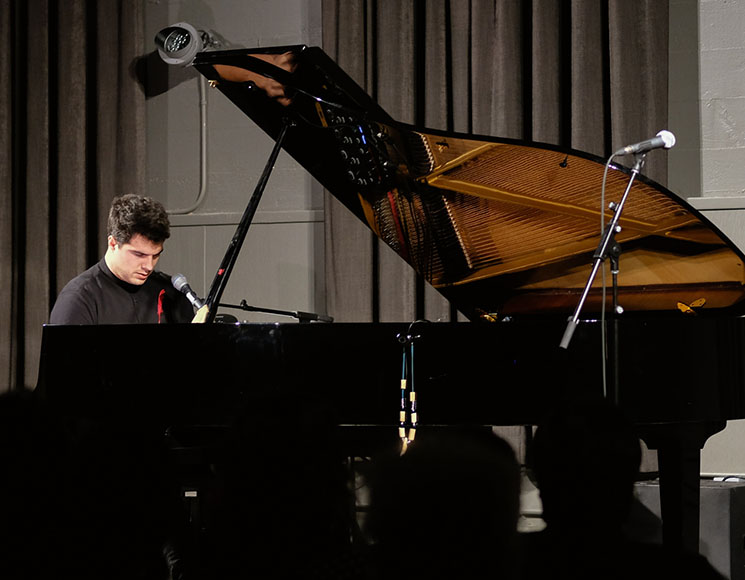 Jeremy Dutcher Baumann Centre, Victoria BC, March 8