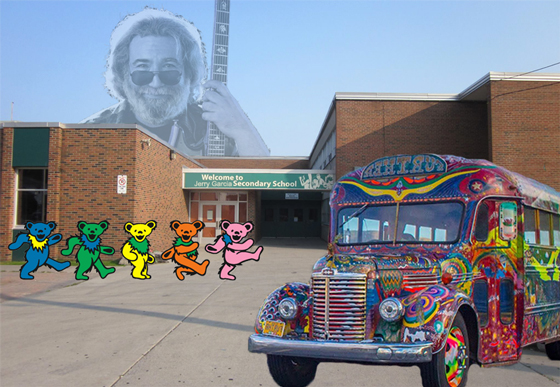 A San Francisco High School Could Be Named After Jerry Garcia