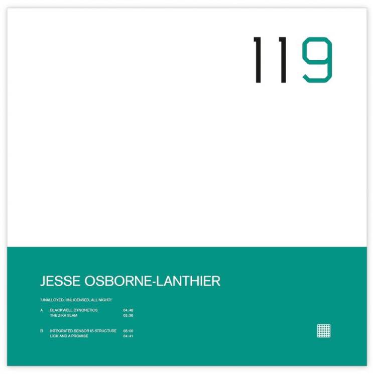 Jesse Osborne-Lanthier Unalloyed, Unlicensed, All Night!