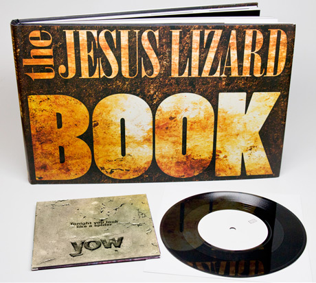 The Jesus Lizard Detail Coffee Table Book with Bonus 7-Inch