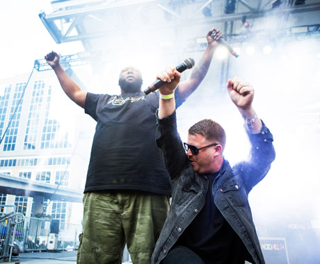"Run the Jewels ""Blockbuster Night Part 1"" (snippet)"