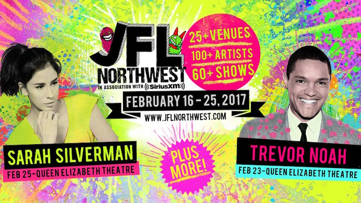 JFL NorthWest Brings Sarah Silverman, Trevor Noah to Vancouver