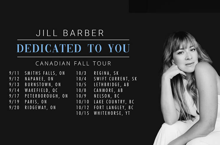 "​Jill Barber Maps Out ""Dedicated to You"" Canadian Tour"
