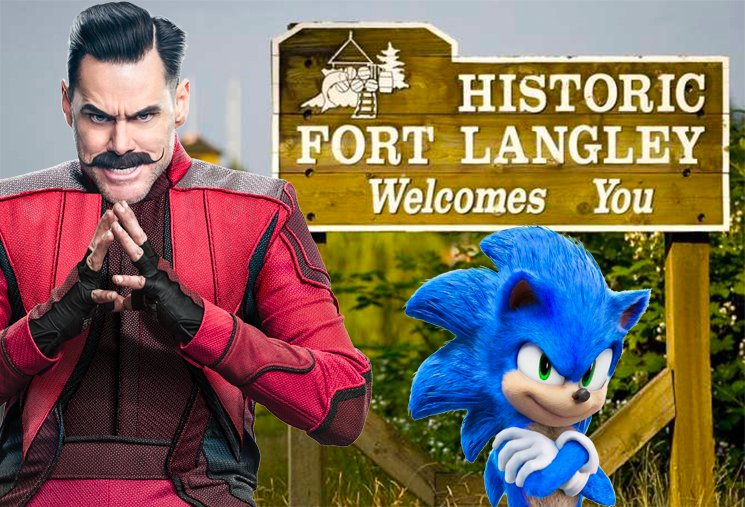 Jim Carrey Spotted Filming 'Sonic the Hedgehog 2' in Fort Langley