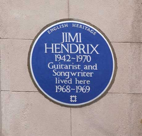 Jimi Hendrix's London Apartment to Be Turned into Museum