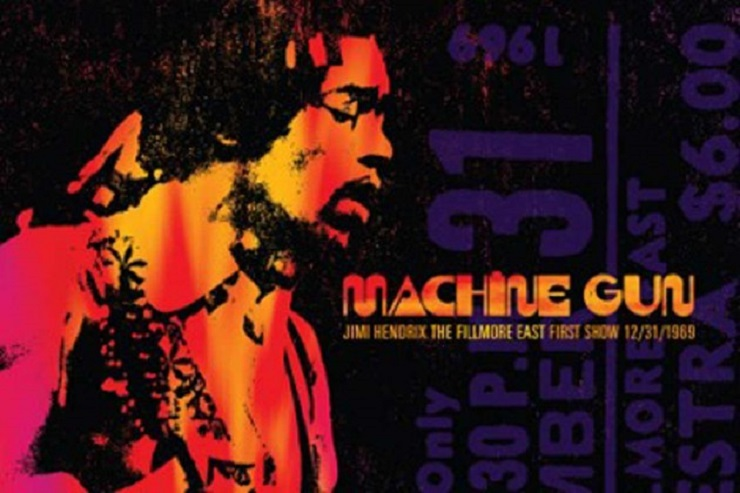 Jimi Hendrix's First Band of Gypsys Concert Gets Commercial Release
