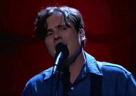 "Jimmy Eat World ""Changes"" / ""We Are Never Ever Ever Getting Back Together"" (Taylor Swift cover) (live on 'Conan')"