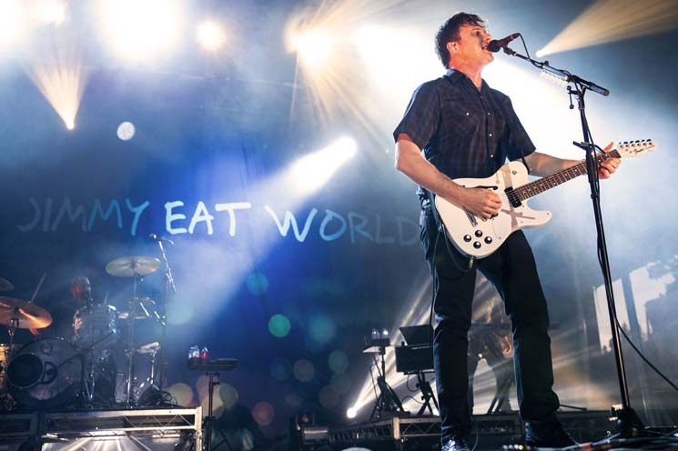 Jimmy Eat World Sonic Field Day, Edmonton AB, September 8