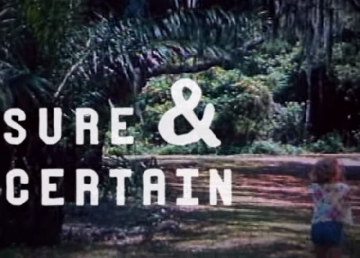 Jimmy Eat World 'Sure and Certain' (lyric video)