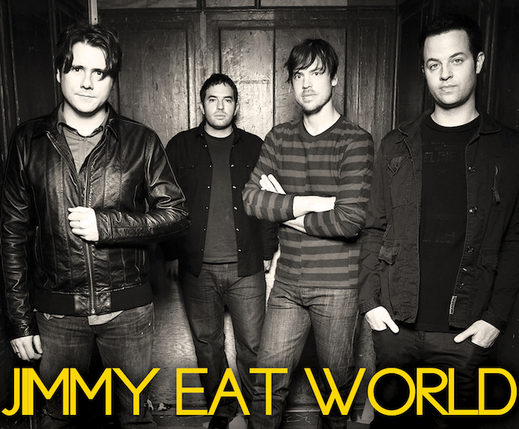 Jimmy Eat World Warns Young Musicians to Consider the Acronym of Their Band Name
