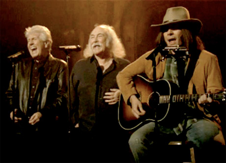 "Jimmy Fallon ""Party in the USA"" (performed as Neil Young with David Crosby and Graham Nash)"