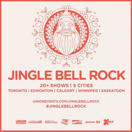 Death From Above 1979, Tokyo Police Club, Phantogram Tour Canada for Jingle Bell Rock Concert Series